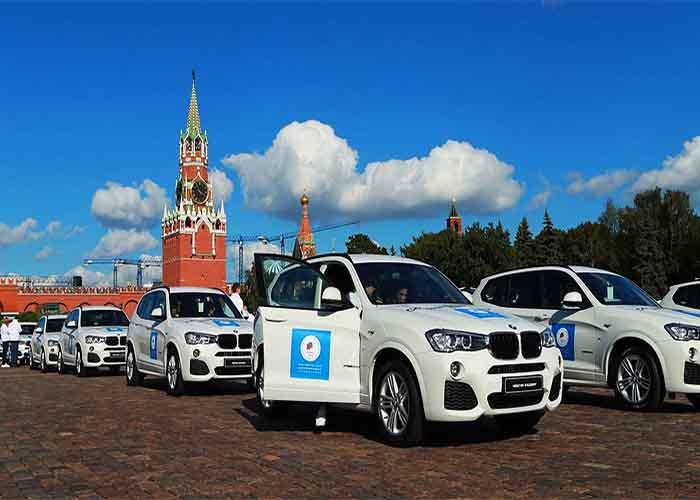 Олимпийские BMW