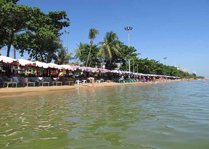 Пляж города Паттайя