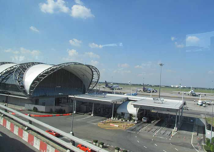 Бангкок, аэропорт Суварнбахуми