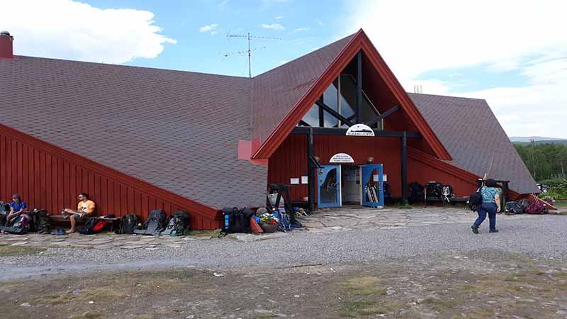 туристический лагерь nikkaluokta
