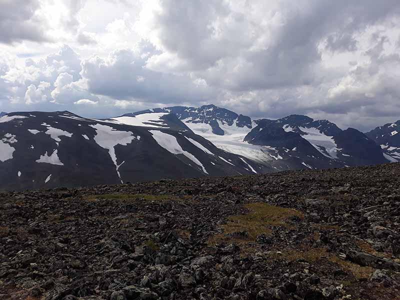 вершина горы в швеции