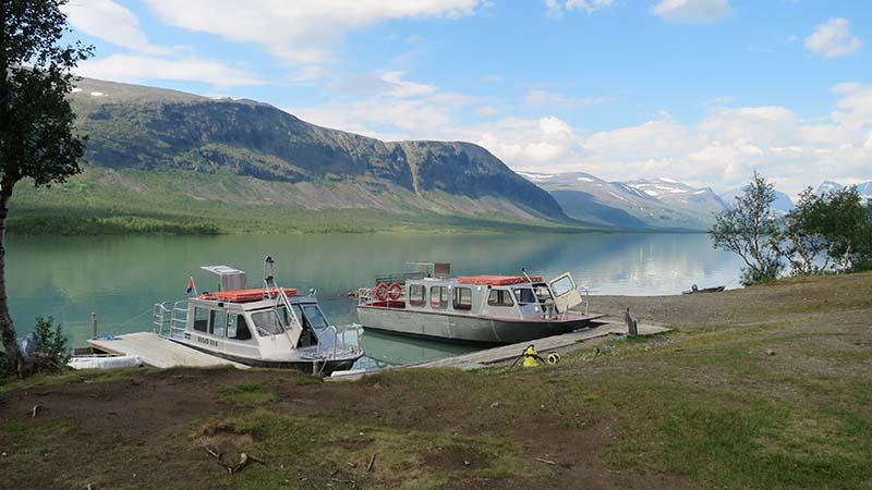 Водный транспорт в горах Швеции