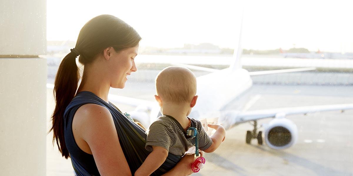 путешествие с грудным ребенком