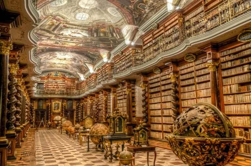 библиотека климентинум