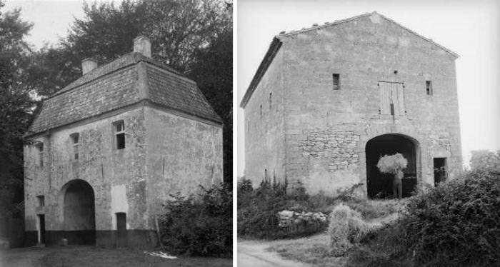 2 старых дома