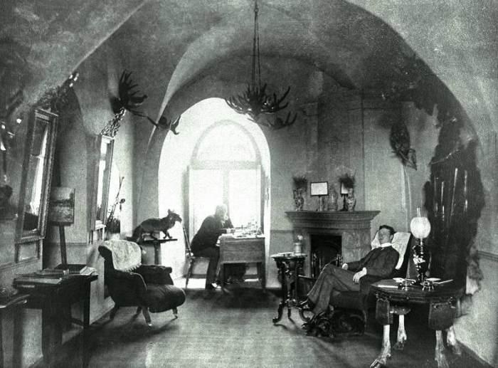 жилая комната в крепости