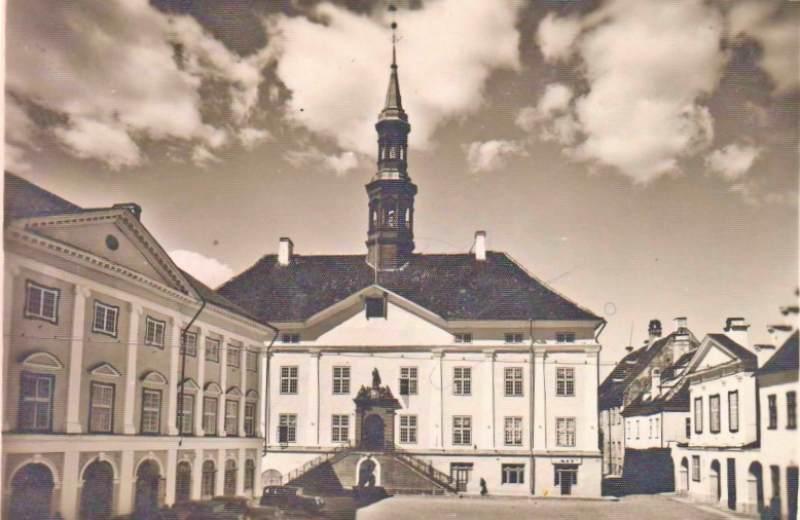 Нарвская ратушная площадь до войны