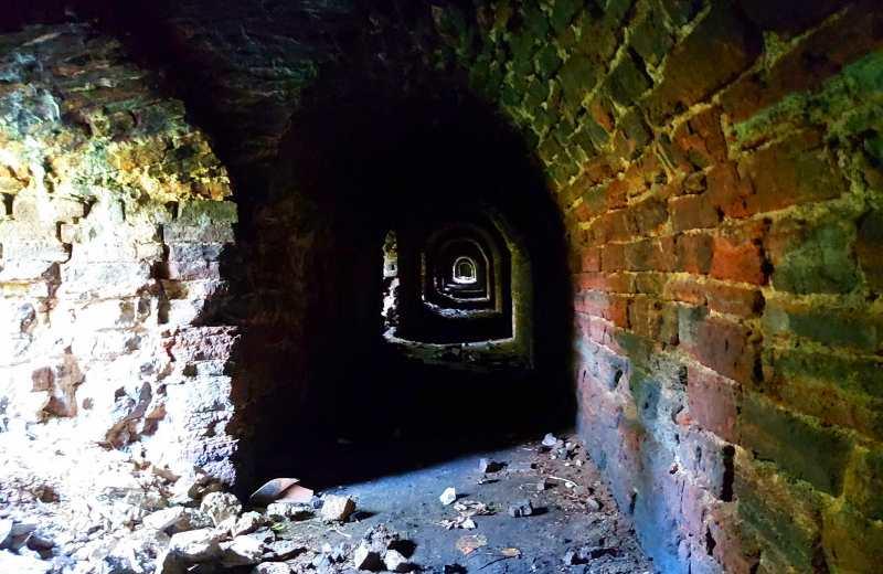 Тоннель в бастионе Глория